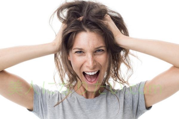 髪の広がり緊急ケア方法