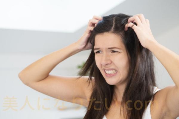 髪が臭う女性