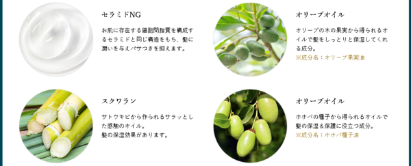 ドルチボーレアマンナ植物成分