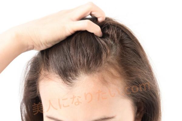 髪が柔らかい女性